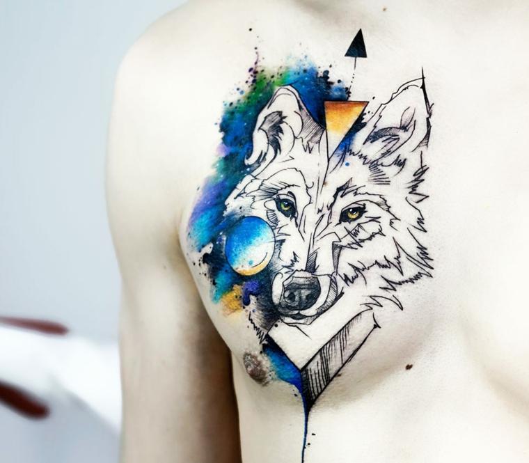Tatuajes coloridos 45