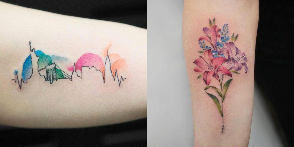 Tatuajes de colores 5