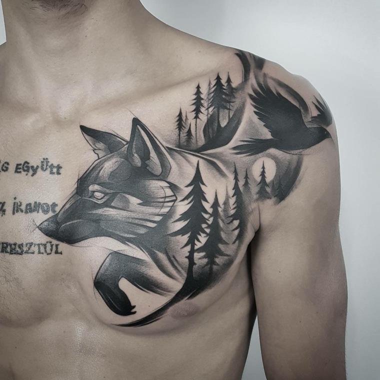 Tatuajes mixtos 10