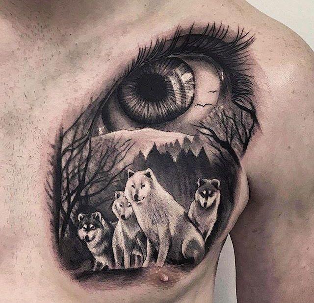 Tatuajes mixtos 16