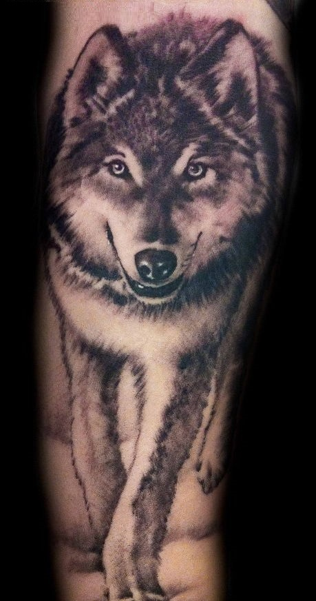 Wolf tattoo 10 1