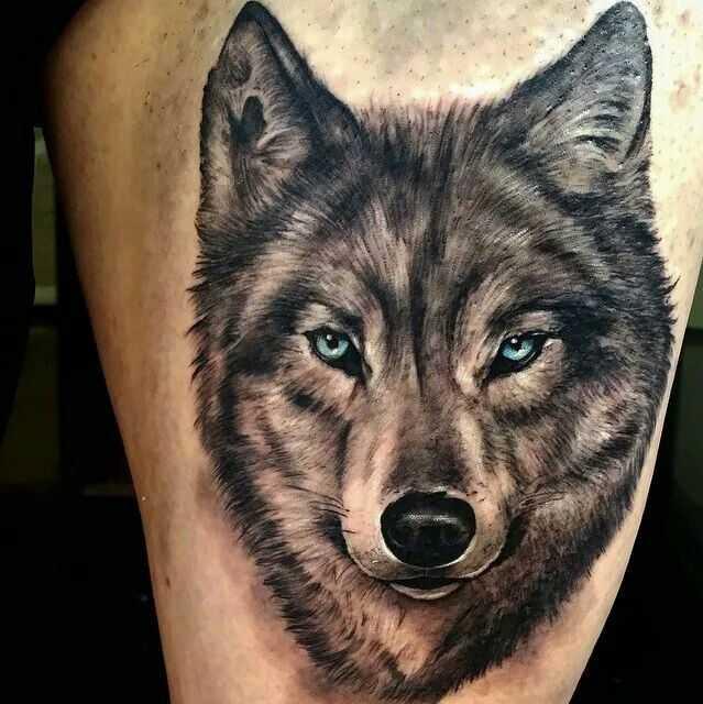 Wolf tattoo 2 1