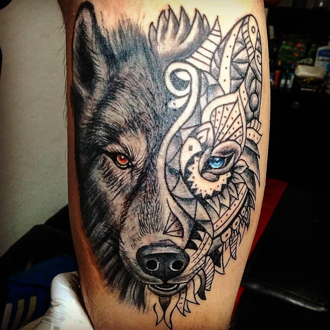 Wolf tattoo 3 1