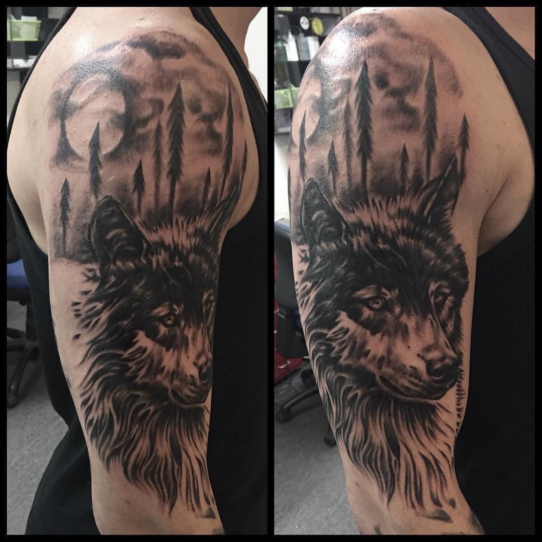 Wolf tattoo 4 1
