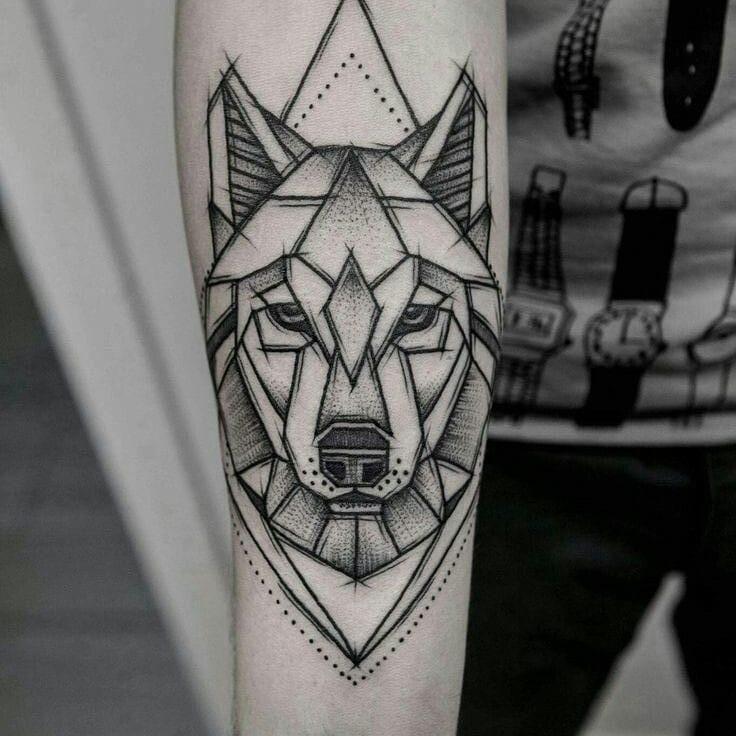 Wolf tattoo 6 1