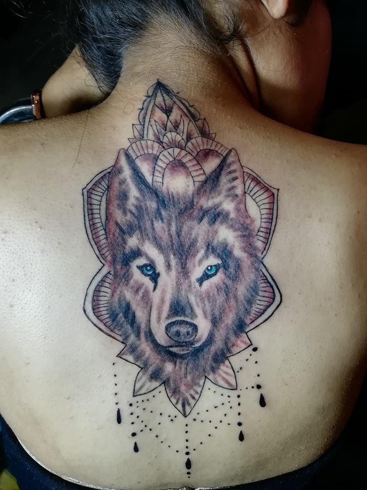 Wolf tattoo 9 1