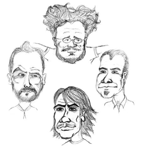 Garabato caricaturezco 1