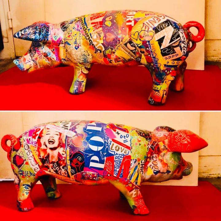 pop art escultura 30