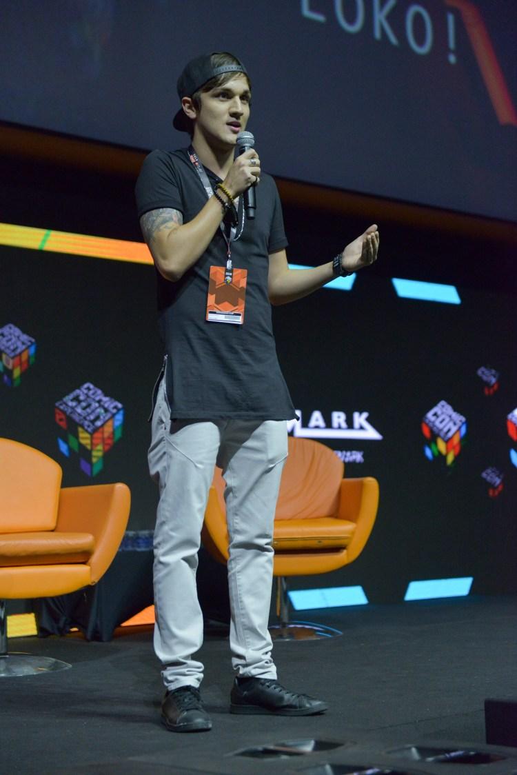São Paulo, 03 de dezembro de 2016. Cobertura do evento CCXP 2016 no São Paulo EXPO. Paris Filmes.  Auditório Cinemark.   FOTOS: Daniel Deak
