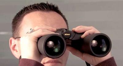 Binoculars view