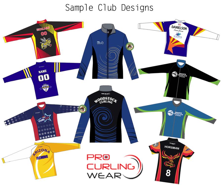 Custom Jackets - Culirng Club - Procurling Wear