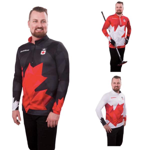 Team Canada LS Shirt M All 3
