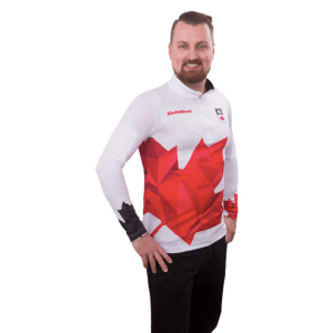 Team Canada LS Shirts M White