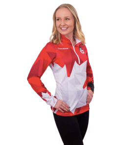 Team Canada LS Shirts W Red
