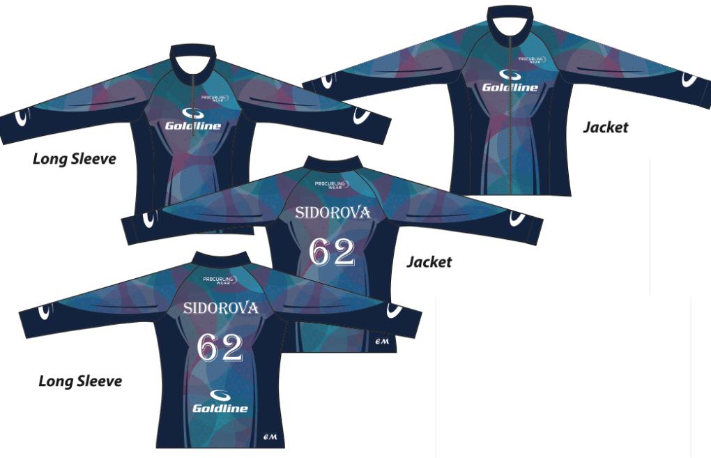 Team Sidorova 4 - Procurling Wear