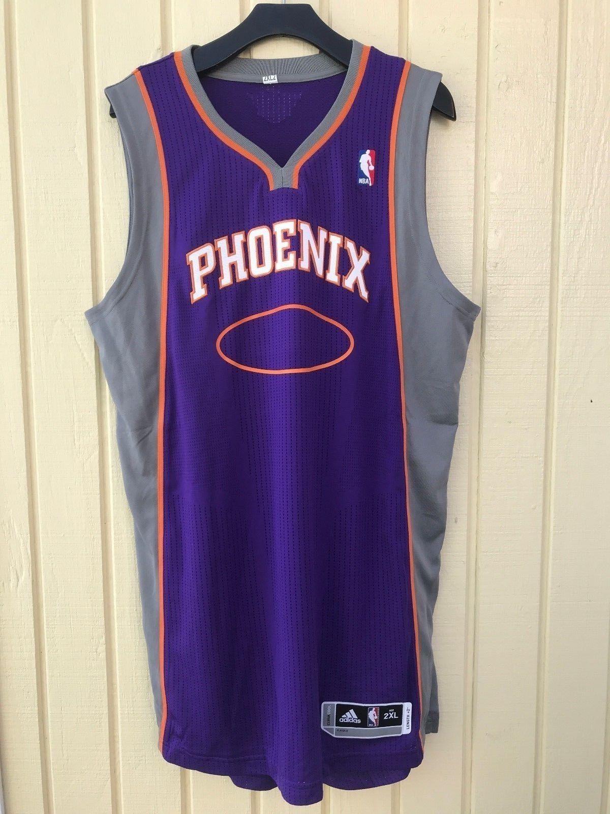 cheap for discount b95b9 88912 Phoenix Suns adidas Rev30 Blank Road Purple NBA Basketball Jersey