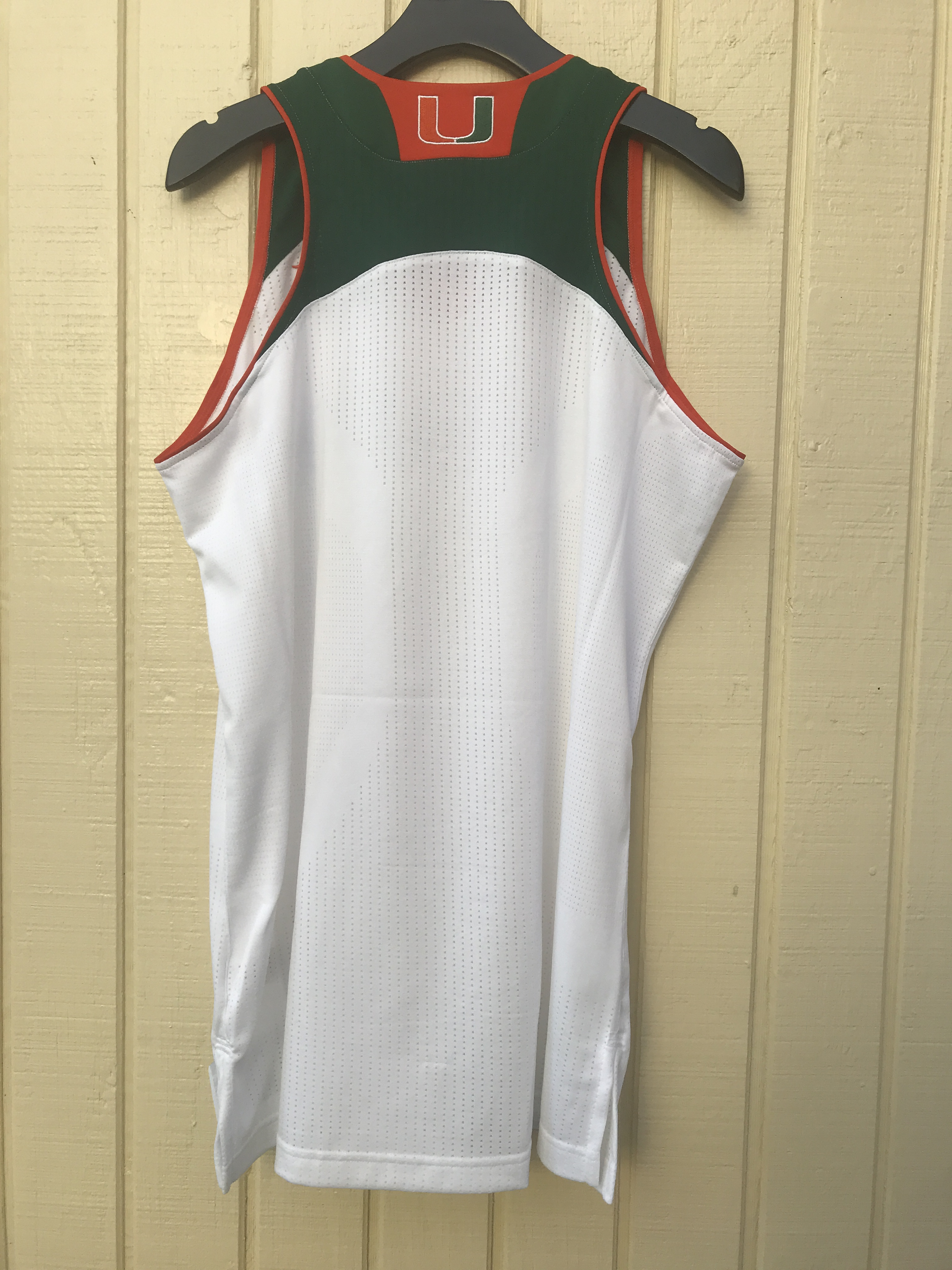 7a7c77661df The University of Miami adidas Blank Home NCAA Women s Basketball Jersey