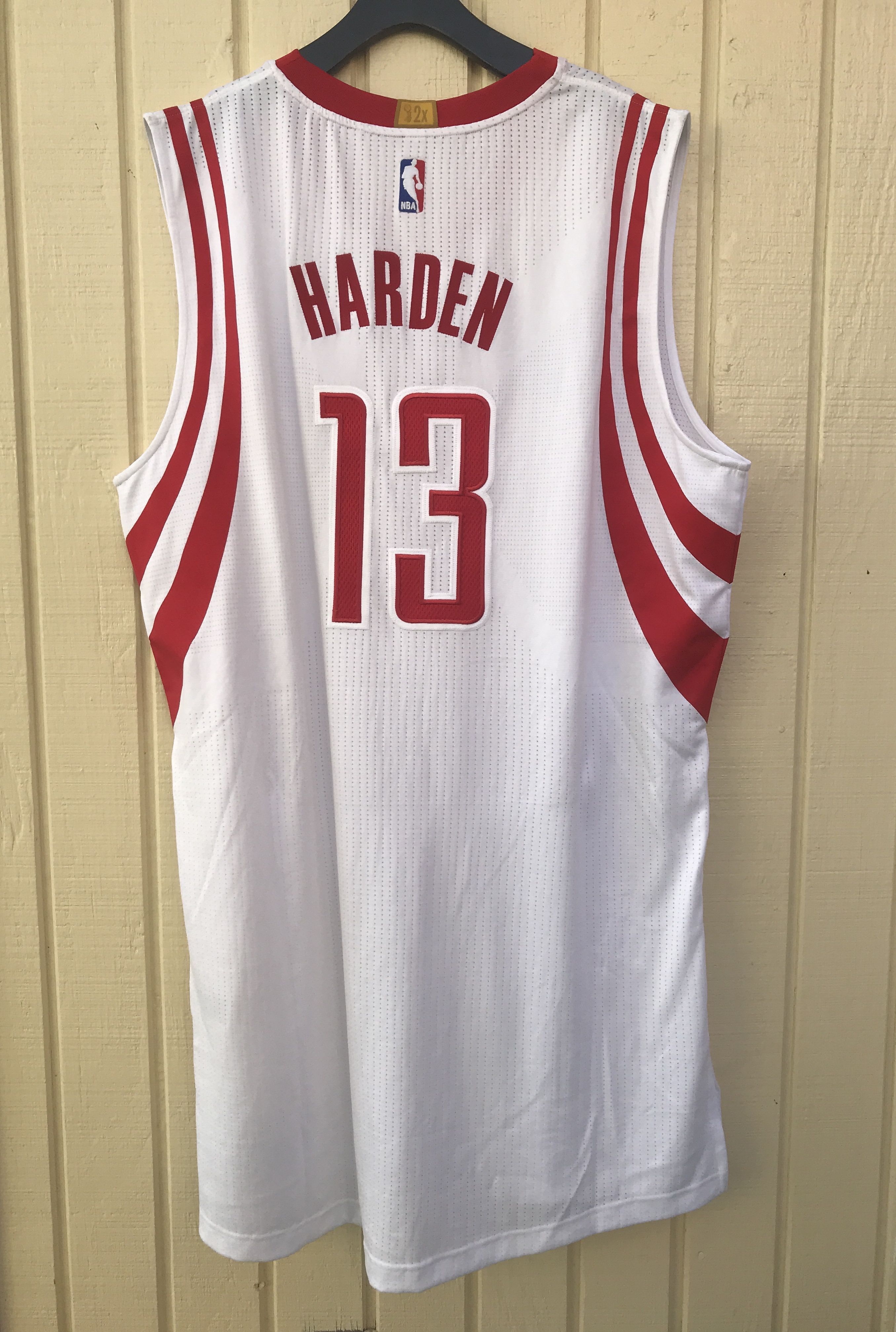 best cheap ec3c0 3ec9b Houston Rockets #13 James Harden NBA adidas rev30 Home On Court Jersey