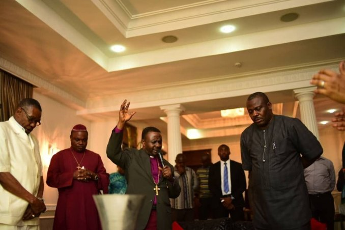 CAN President Praying for Imo State