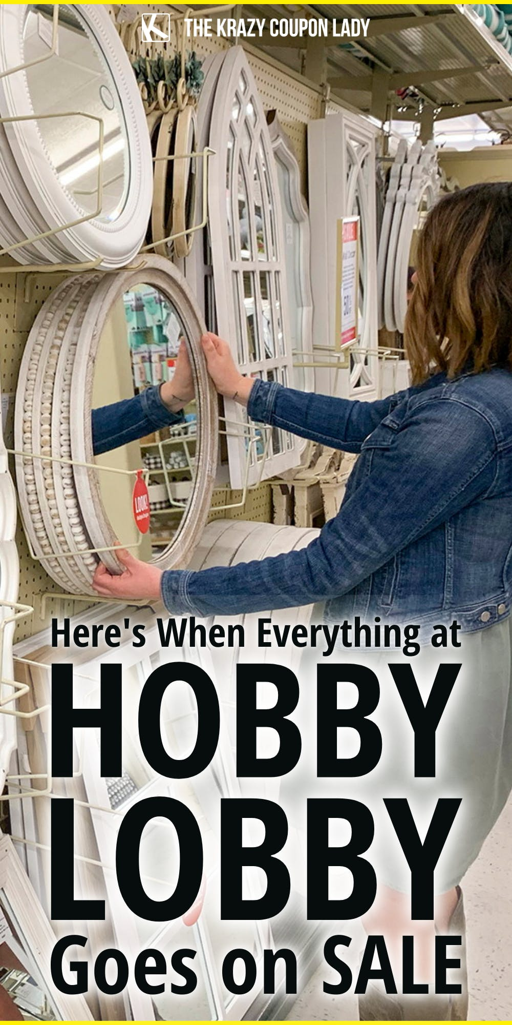 your complete hobby lobby sale schedule