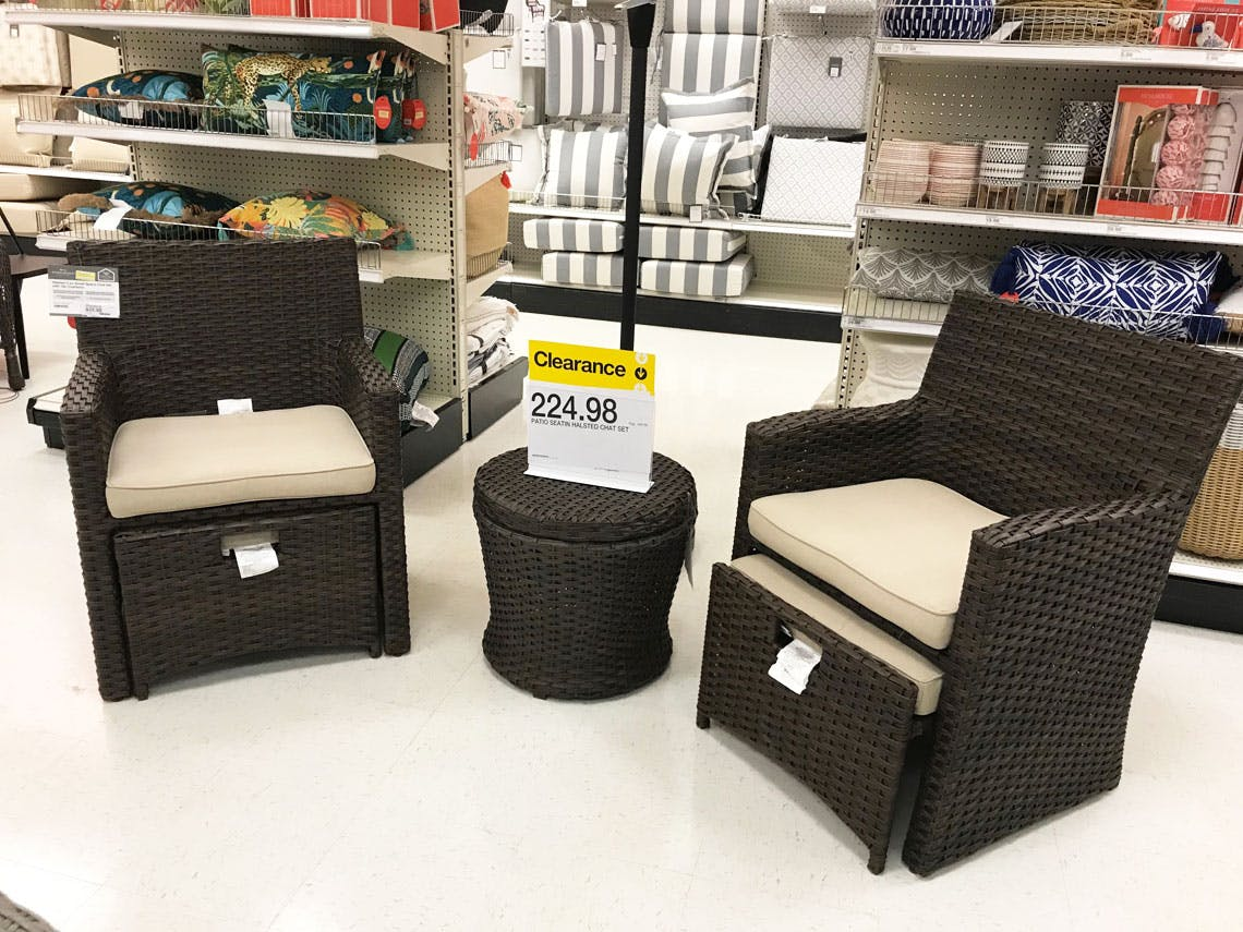 target clearance patio furniture