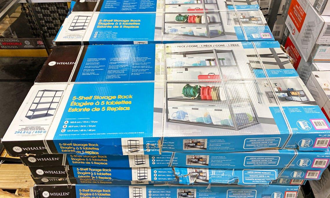 whalen storage shelves costco