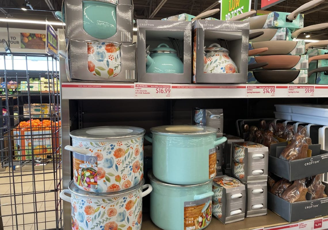 spring cookware as low as 9 99 at