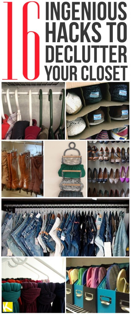 16 Closet Organization Hacks That Will Change Your Life The Krazy Coupon Lady