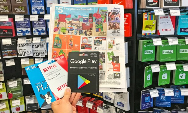 what gift cards are sold at cvs howtoviews co