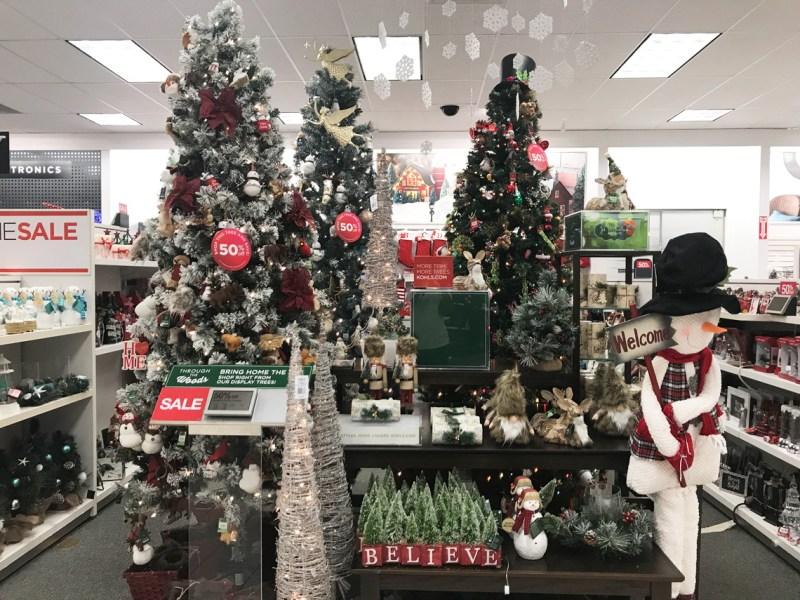 St Nicholas Christmas Trees