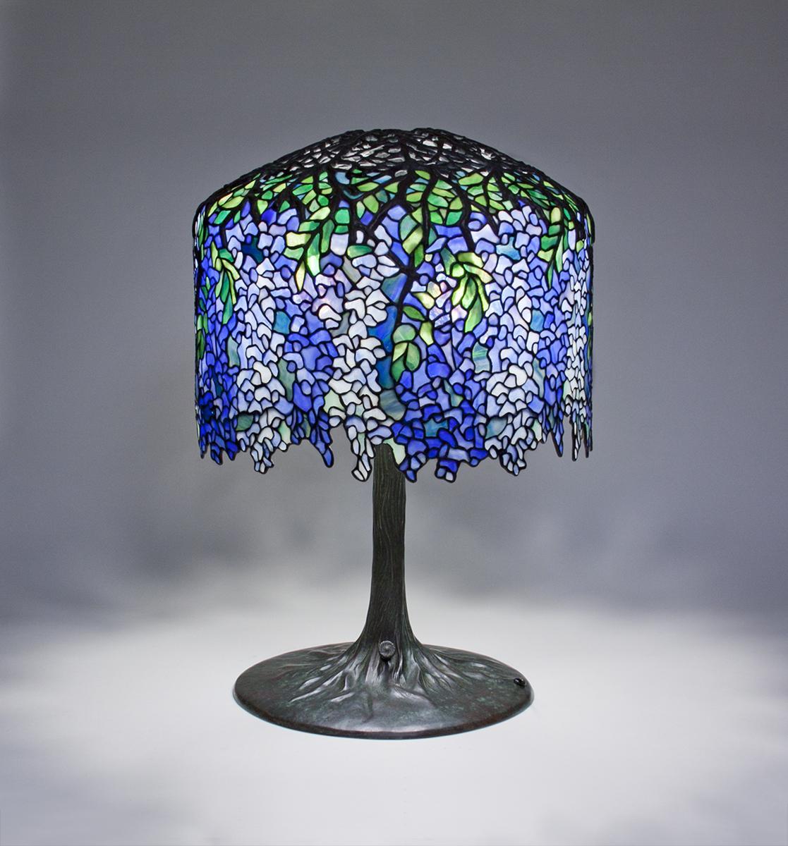 Tiffany Studios Wisteria Table Lamp Tiffany Studios Lamps Catalogue Lillian Nassau Llc