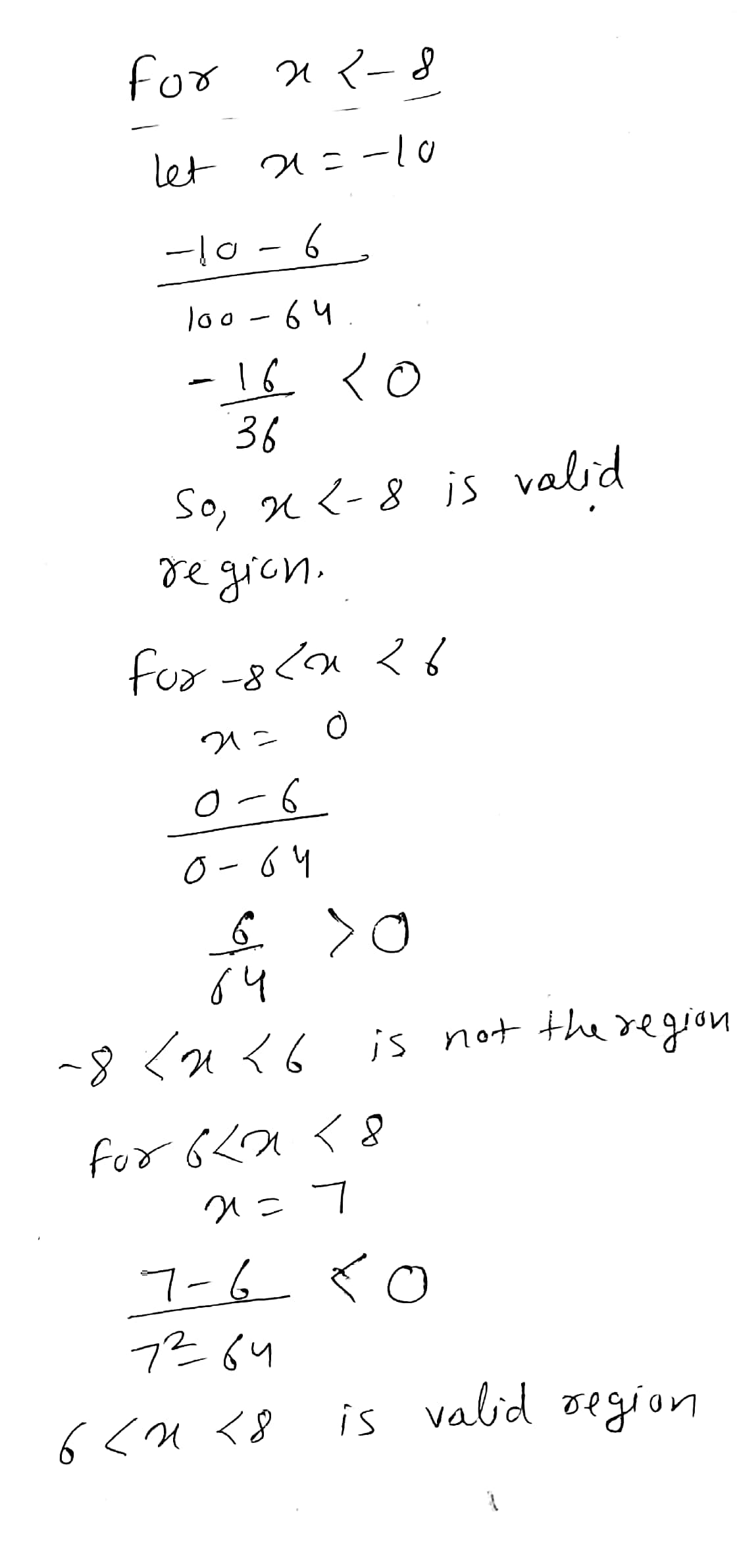 Answered Solve The Following Rational Inequality