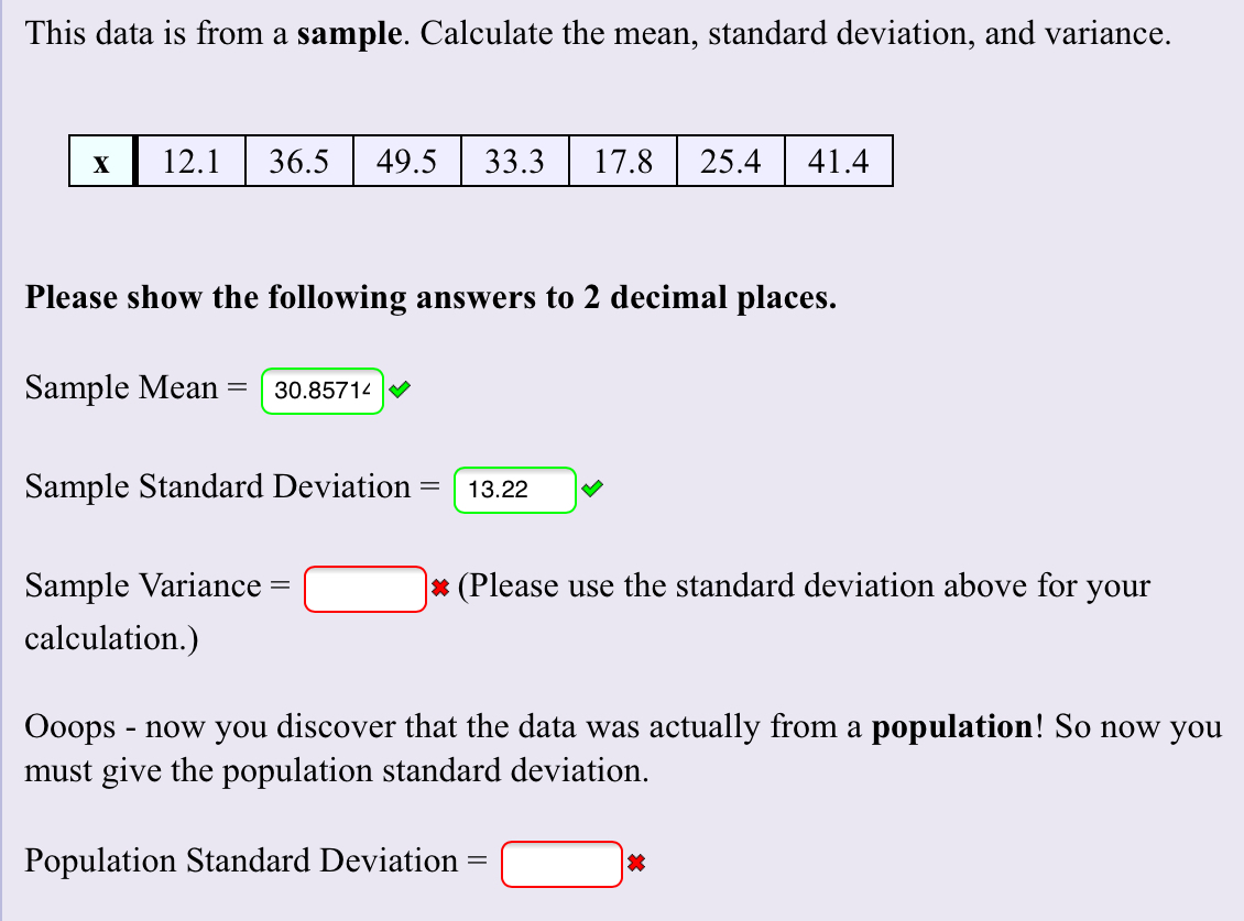 Proisrael Standard Deviation Calculator From Mean And
