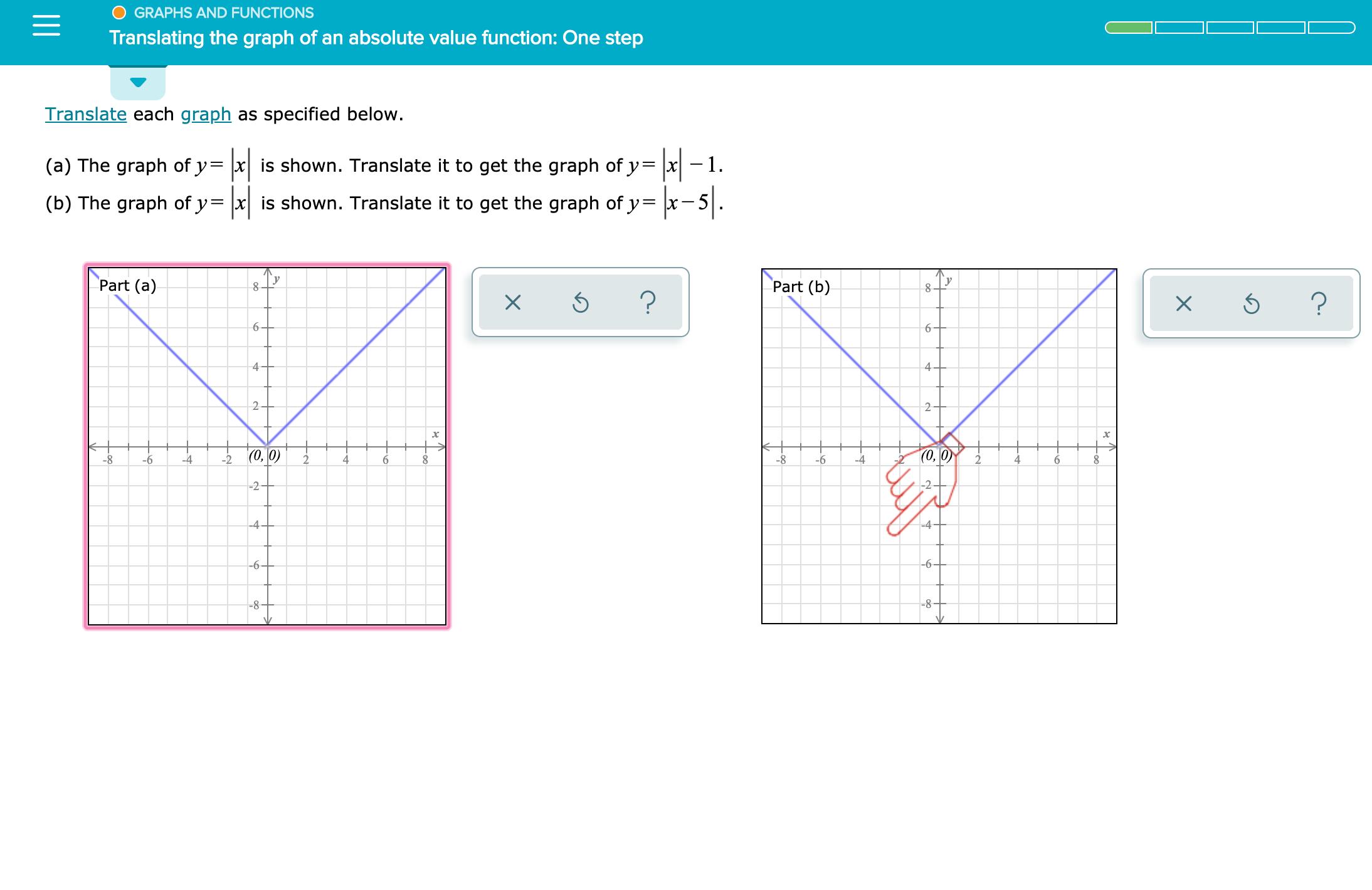Graph Y X 6