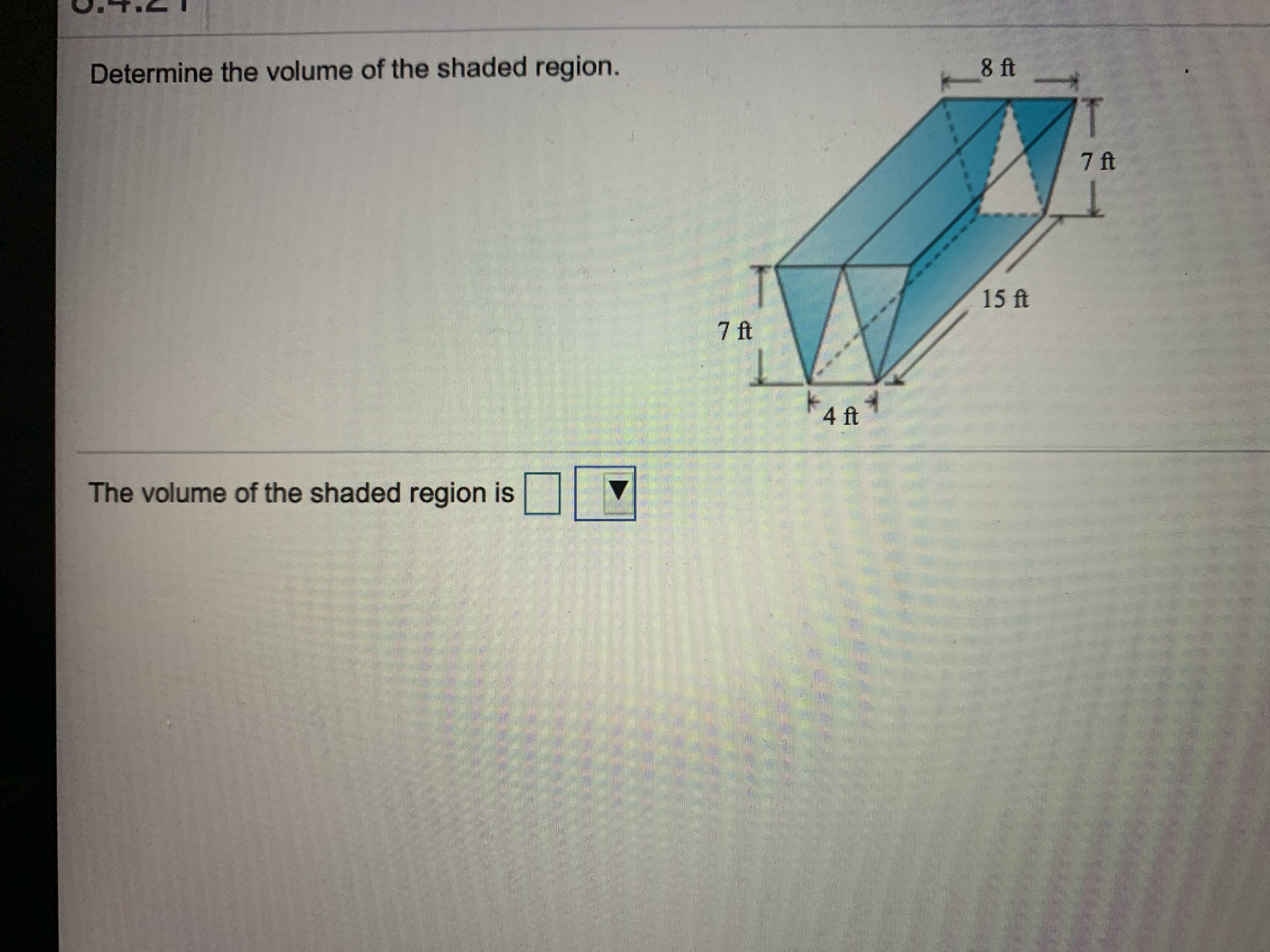 Answered 8 Ft Determine The Volume Of The Shaded