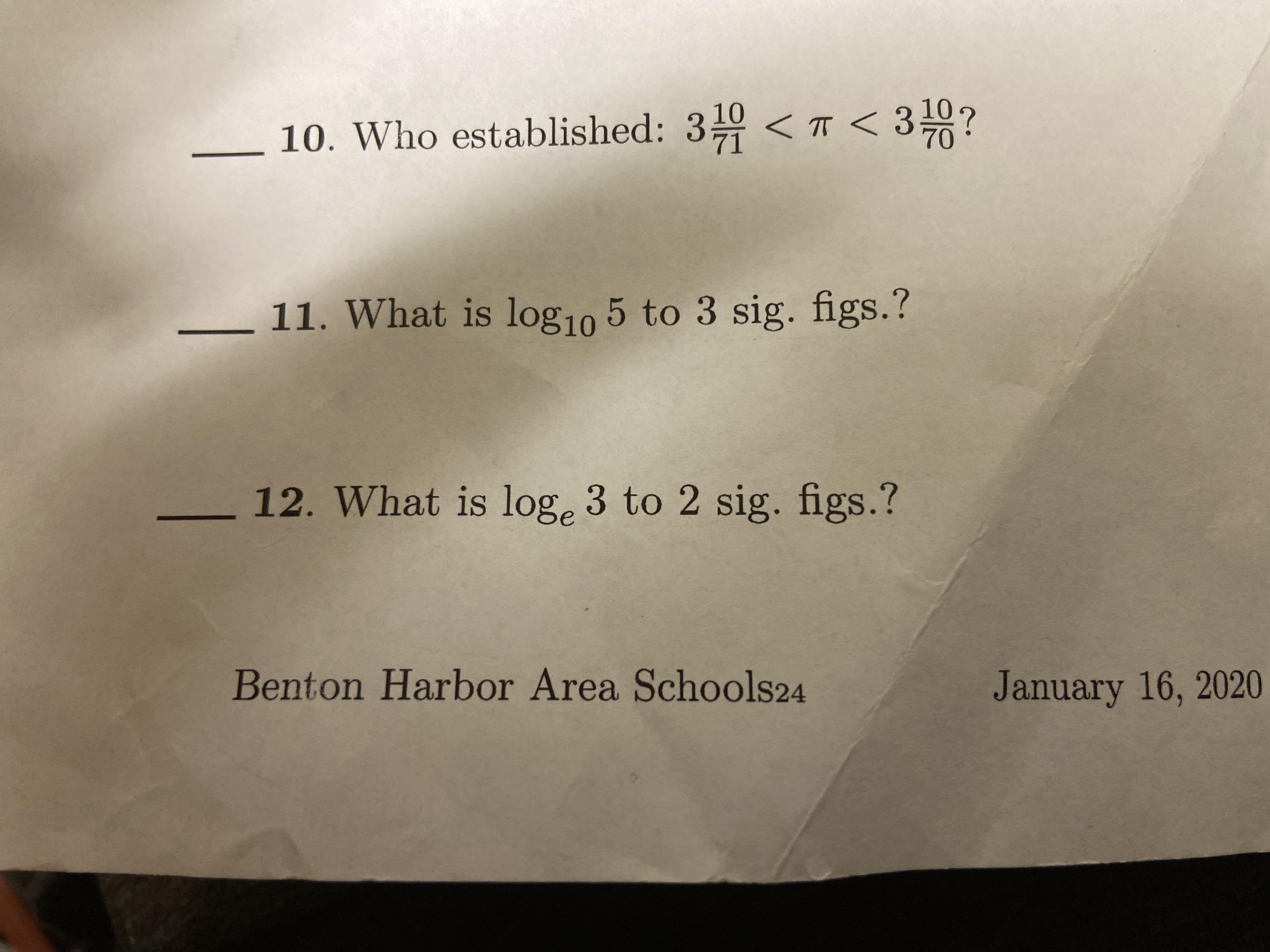 Answered 10 Who Established 3