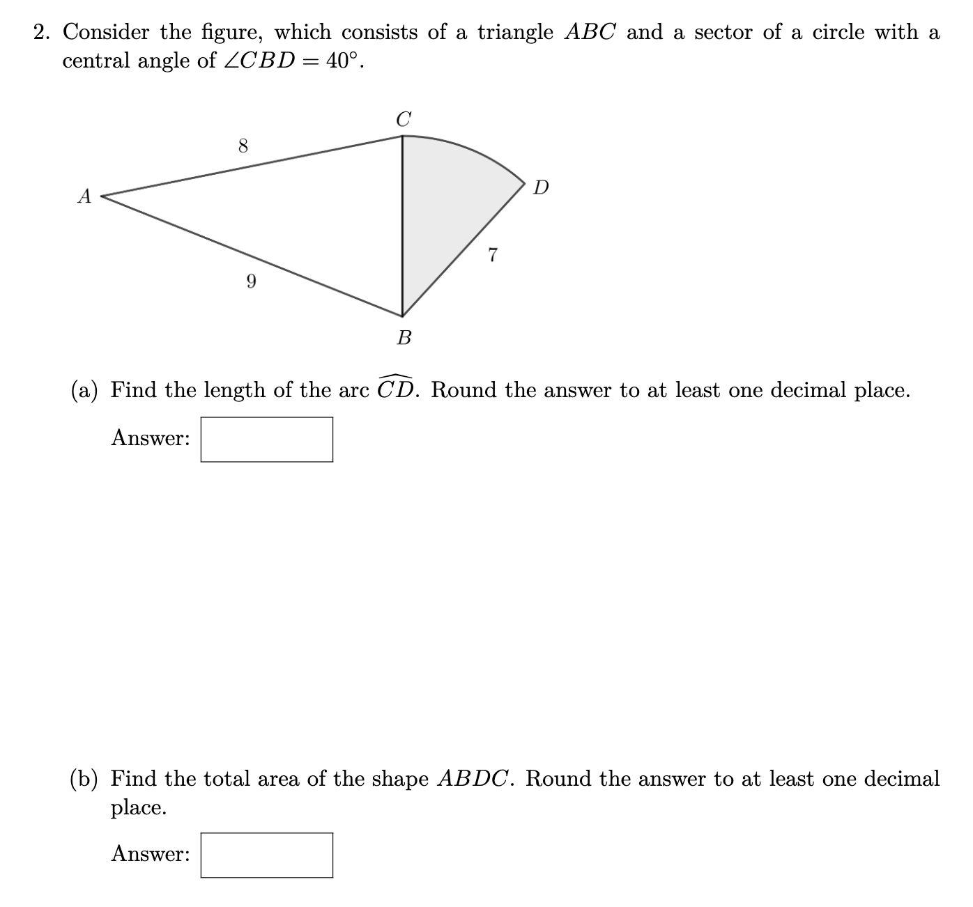 Answered 2 Consider The Figure Which Consists