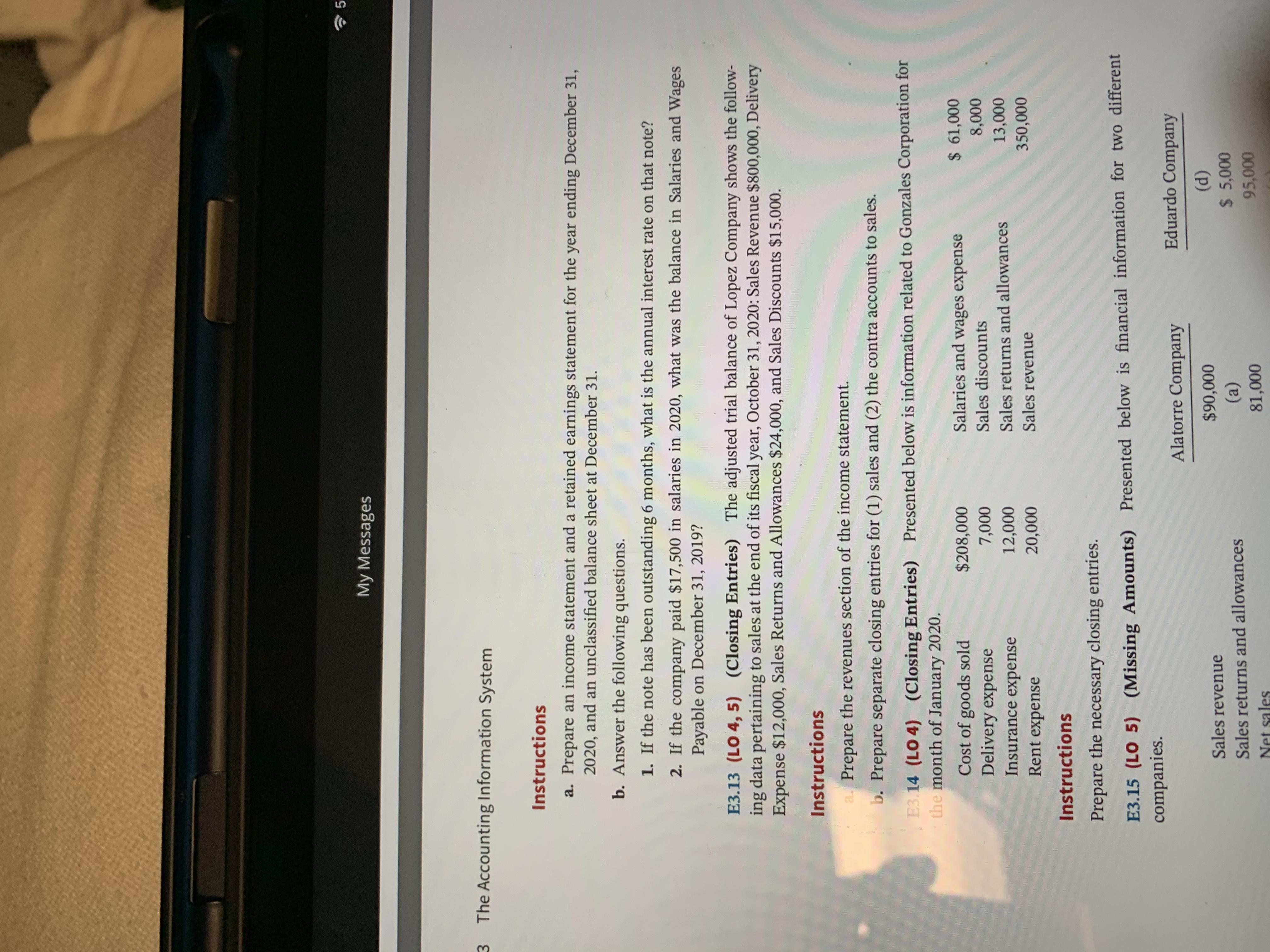Answered 10 40 Pm Fri Jan 31 My Messages E3 12