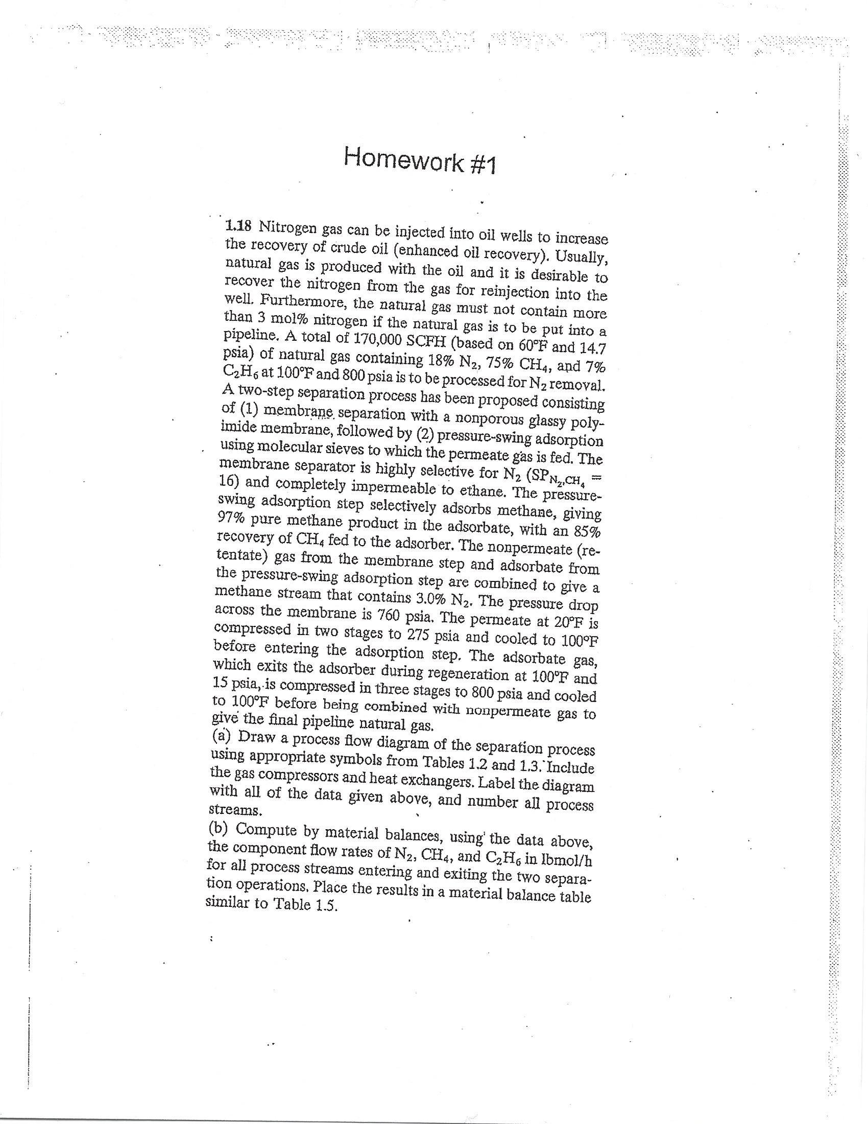 Answered Homework 11 18 Nitrogen Gas Can Be
