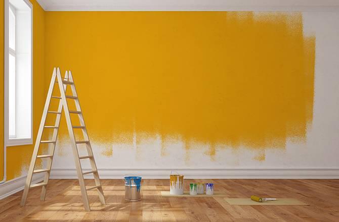 idee peinture salon les peintures