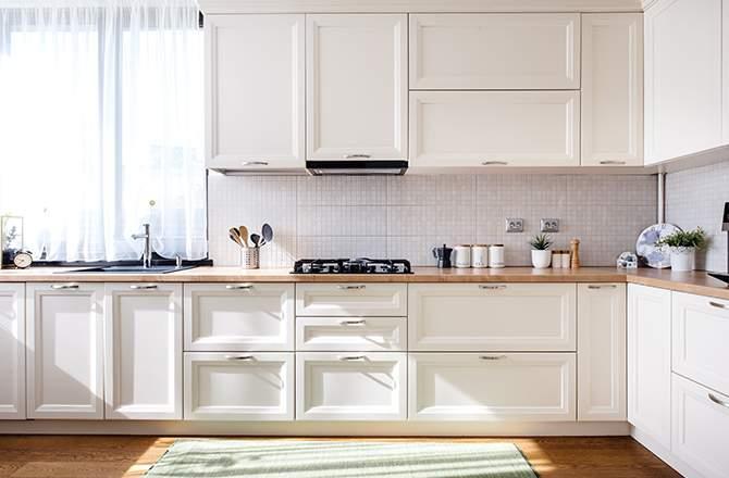 cuisine blanche planche de styles