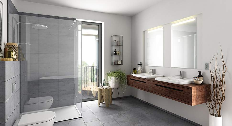 revetement mural salle de bain quel