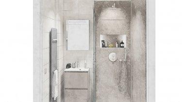 petite salle de bain moderne plans et