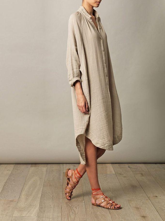 4 ways to style a shirtdress