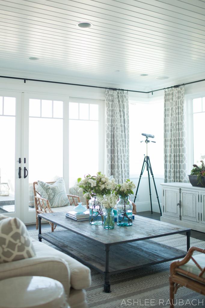 beach house living room owens and davis