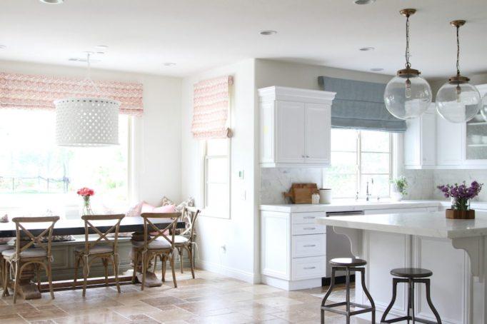 White Beach Kitchen Remodel Calmo Becki Owens