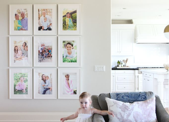 easy white gallery wall becki owens