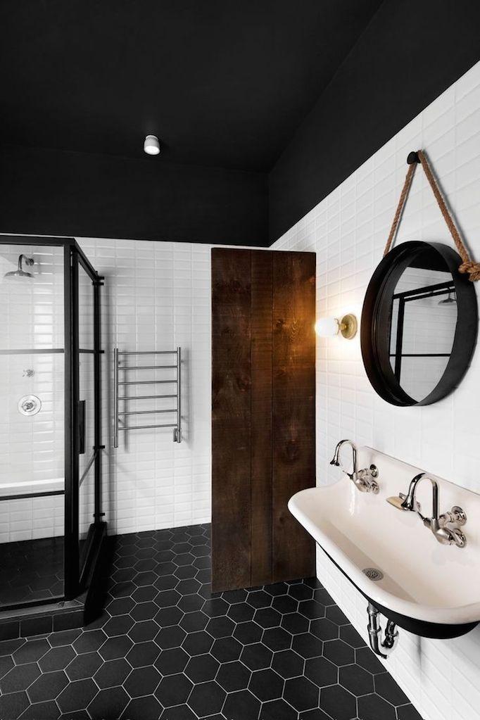 Black and White Bathrooms Becki owens