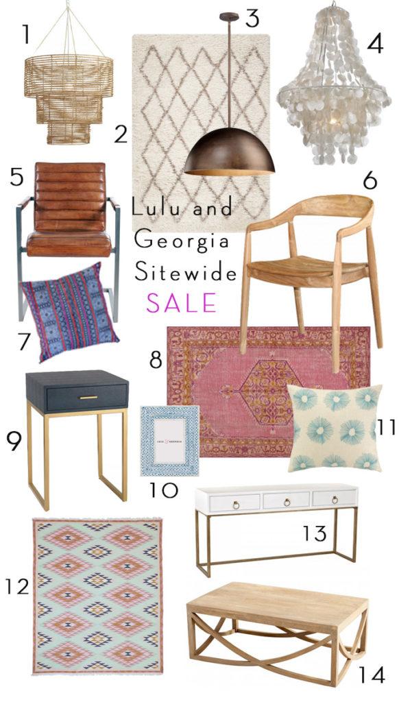 Lulu and Georgia Sitewide Sale