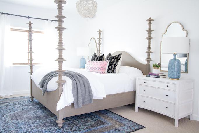 Modern Bohemian Spanish Master Bedroom Becki Owens
